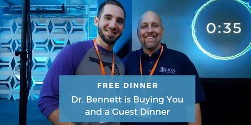 Pain Free Naturally | FREE Dinner Event with Dr. Chris Bennett, DC