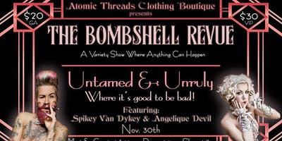 The Bombshell Revue's- Untamed & Unruly