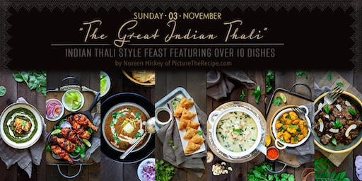 'The Great Indian Thali' Pop-Up Dinner