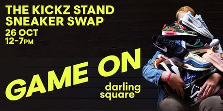 The Kickz Stand Sneaker Swap tickets