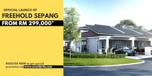 Official Launch of Freehold Sepang: Your Private Seaside Villa
