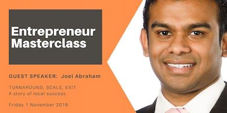 Entrepreneur Masterclass:  Turnaround, Scale, Exit tickets
