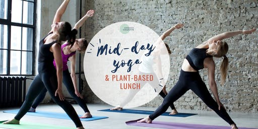 Mid-day Yoga & Plant-based Lunch