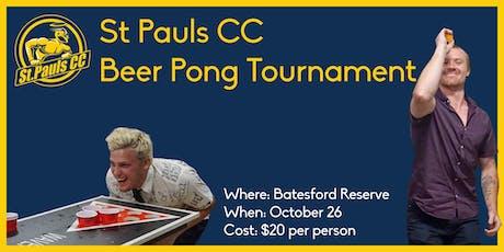 St Pauls Beer Pong Tournament tickets