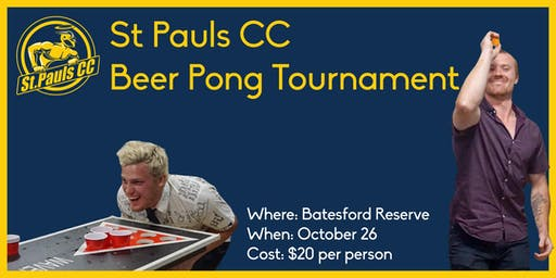 St Pauls Beer Pong Tournament