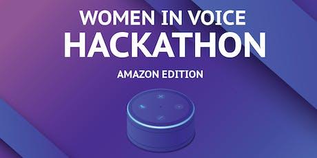 Women In Voice Hackathon - Monterrey entradas
