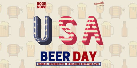 USA Beer Day w/ Rotating Beer Specials tickets