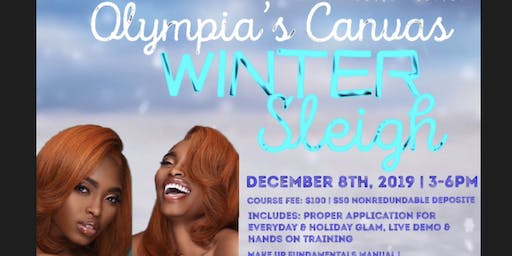 Olympia's Canvas Winter Sleigh