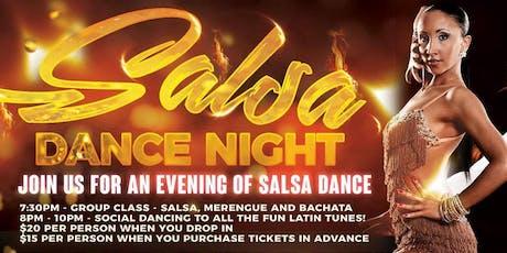 Salsa Club Night in Monterey tickets
