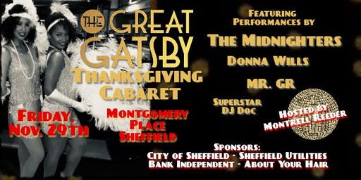 Great Gatsby Thanksgiving Cabaret