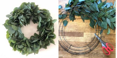 Holiday Wreath Workshop at Ritual Coffee
