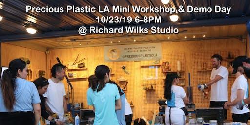 Precious Plastic LA Mini-Workshop & Demo Day