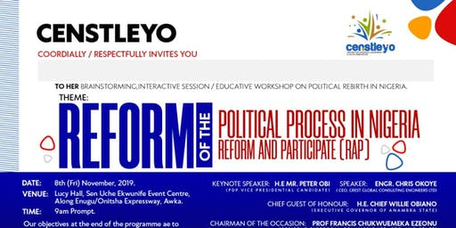 Reform Of The Political Process In Nigeria, Reform