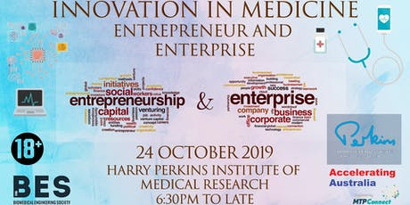 Innovation in Medicine: Entrepreneur to Enterprise tickets