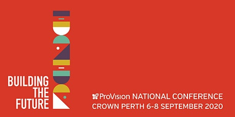 Building the Future - ProVision National Conference 2020 tickets