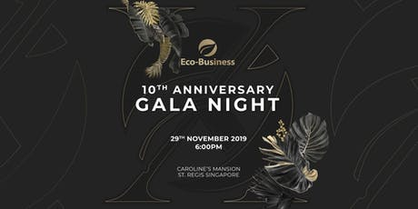 Eco-Business' 10th Anniversary Gala Night tickets