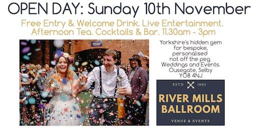 River Mills Ballroom Open Day