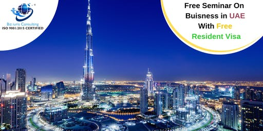 Free Seminar on 'Company incorporation in UAE'