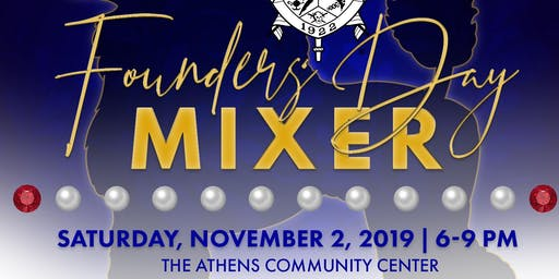 Sigma Gamma Rho Sorority, Inc. Founders' Day Mixer