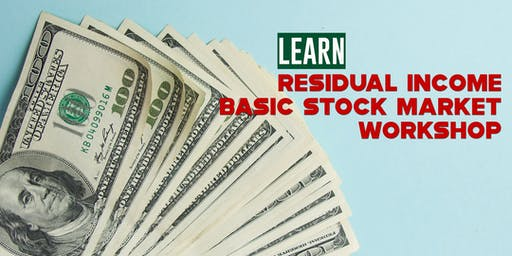 Google Adsense and Stock Market. Residual Income Workshop