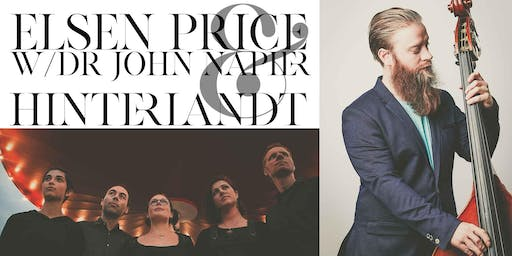 Elsen Price w/ Dr John Napier & Hinterlandt | Live @ The Boilerhouse
