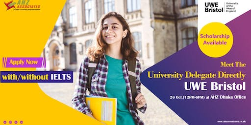 Meet University of the West of England Delegate Directly- AHZ Dhaka Office