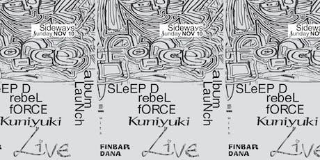 Sleep D 'Rebel Force' Album launch tickets