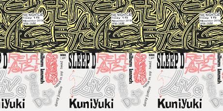 Sleep D 'Rebel Force' Album launch with special guest Kuniyuki tickets