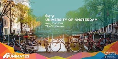Study in Netherlands - Gặp gỡ ONCampus University of Amsterdam tickets