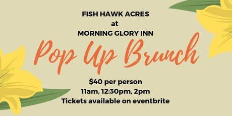Pop Up Brunch tickets