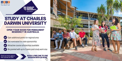 Info-session with Charles Darwin University