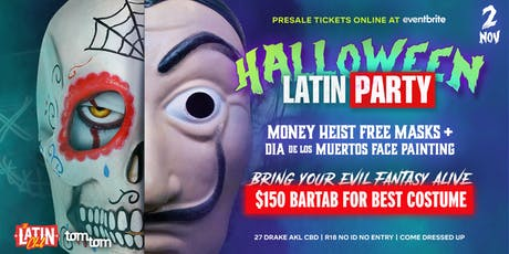 The Latin Club's Halloween Party tickets