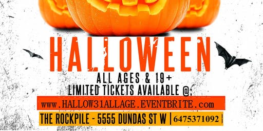 Toronto's All Age Halloween Party