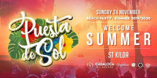 Puesta de Sol | Summer Beach Party