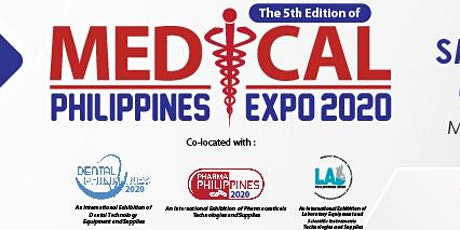 Medical Philippines Expo 2020 tickets