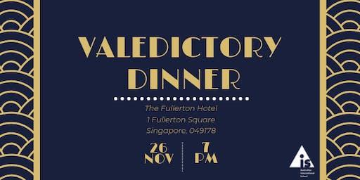 2019 | AIS  | Year 12 Valedictory Dinner