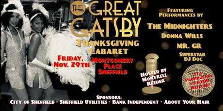 Great Gatsby Thanksgiving Cabaret tickets