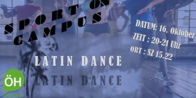 Sport on Campus - Latin Dance by Lisa