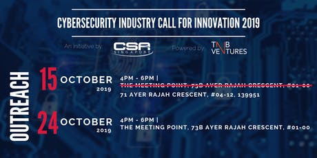 OUTREACH: 2nd Cycle of Cybersecurity Industry Call for Innovation 2019 tickets