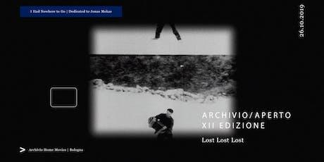 """Archivio Aperto XII - proiezione in 16 mm di """"Lost Lost Lost"""" (1976) biglietti"""
