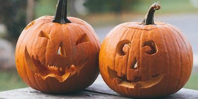 Halloween fun  at Poole Farm