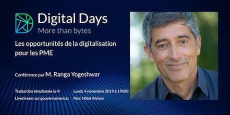 Digital days / More than bytes tickets