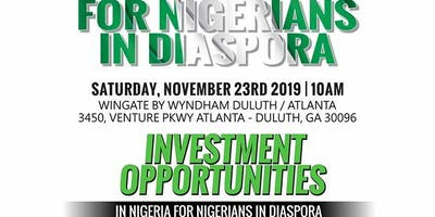For Nigerians in Diaspora- Investment Opportunities in Nigeria