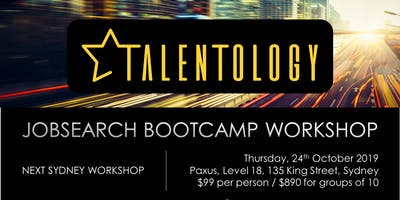 Talentology - Job Search Boot Camp