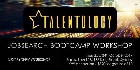 Talentology - Job Search Boot Camp tickets