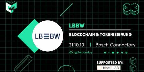 Blockchain & Tokenisierung bei der LBBW Tickets