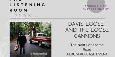 Davis Loose and The Loose Cannons, Album Release Event 12/04/2019