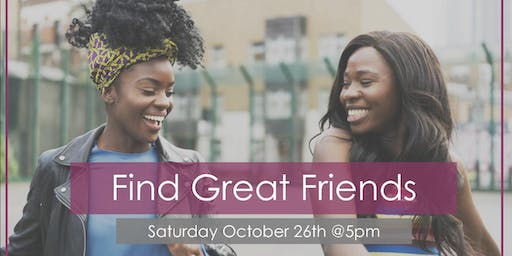 """Find Great Friends"" Social"