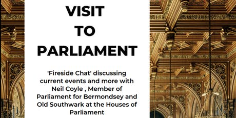 AN INSIGHT INTO THE HOUSES OF PARLIAMENT tickets