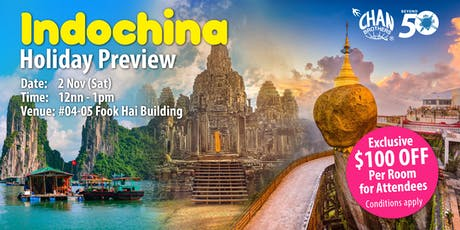 Indochina Holiday Preview  tickets